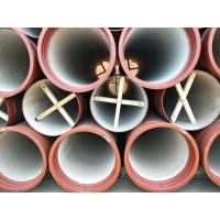 Buy cheap EN598 Ductile Iron Pipes with high alumina cement from wholesalers