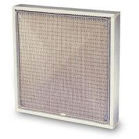 Buy cheap 595 * 595 * 46mm Anti-Static Mesh Laminated Media Industrial Air Filters for Hospital, Bag from wholesalers