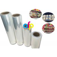 Buy cheap Yokurt Bundle Packing Heat Shrink Plastic Film , Soft Poly Shrink Film from wholesalers