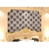 Buy cheap 3D Effect European Style Black and White Leather Pattern Wallpaper from wholesalers