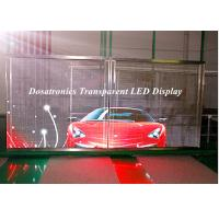 Buy cheap P10mm Behind Glass Mounted LED Curtain Display LED Perimeter Boards from wholesalers
