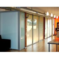 Buy cheap Opaque Milk White Glass Panel Office Partitions , Glass Partition Panels from wholesalers