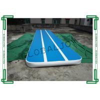 Buy cheap Customized Inflatable Gymnastics Mats , Gymnastics Air Tumbling Track from wholesalers