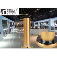 Buy cheap 120ml Aluminum Cylinder Touch Panel Electric Fragrance Diffuser Machine For Scent  Marketing from wholesalers