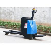 Buy cheap 3 Position Electric Pallet Truck , Round Solid Steel 2.5 Ton Pallet Truck Jack from wholesalers