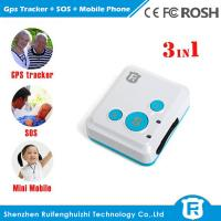 Buy cheap Very small size location tracking children senior gps mobile phone/emergency watch phone from wholesalers