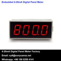 Buy cheap 4-20mA Loop Powered Digital Panel Meters LED Display SYLED2 from wholesalers
