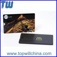 Buy cheap Hotsale Plastic Credit Card 64GB Usb Flash Disk with Free Company Design Printing from wholesalers