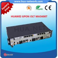 Buy cheap 2U Metal black Mini 100% Original new Optical Line Terminal HUAWEI SmartAX EPON/GPON OLT MA5608T with Max 32 PON Ports from wholesalers