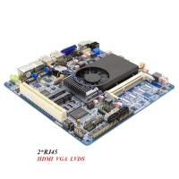 Buy cheap Industrial Motherboard Dual LAN Motherboard Max 8GB RAM With PCI And Double Graphics Card from wholesalers
