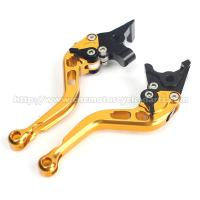 Buy cheap Shorty Straight Aluminium Motorcycle Brake Clutch Lever For Hyosung GT250R GT 650 R from wholesalers