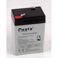 Buy cheap Lead Acid Battery 6V-4ah (ISO, CE, UL, RoHS) (NT6v4ah) from wholesalers