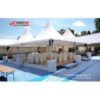 Buy cheap High Reinforced White Frame Tent , Durable Metal Frame Tent Wind Resistance from wholesalers