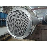 Titanium Clad Shell Tube Heat Exchanger for Propylene Oxide Industry