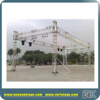 Cheap portable stage equipment dj truss system high for Cheap trusses for sale