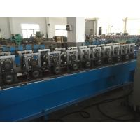 Buy cheap 1100w Door Frame Roll Forming Machine 5.0T 1.6 - 2.0mm Steel Material Thickness from wholesalers