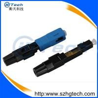 Buy cheap FTTH SC Fiber Optic Fast Connector Drop Cable SC Optic Fiber Quick Connector from wholesalers