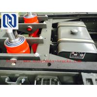 Buy cheap 116HP Red 4x2 Light Duty Commercial Trucks Middle Opening Van from wholesalers