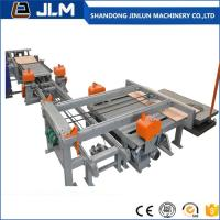 Buy cheap shandong jinlun serov motor full automatic adjustable triming saw for sale from wholesalers