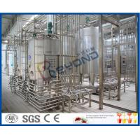 Buy cheap 25000LPH Yoghurt / Cheese / Butter Dairy Processing Plant With SGS ISO 9001 product