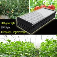 Buy cheap AC85-265V 90W Full spectrum LED Grow light for Flower plant Hydroponics Green Growth Lighting from wholesalers
