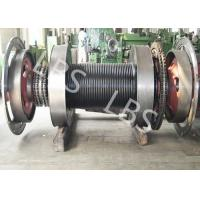 Buy cheap Offshore Windlass Winches / Drawworks Drum For Petroleum Drilling Rig from wholesalers