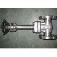 Buy cheap Intergral flange Cryogenic Gate Valve Extended Bonnet F304 API 602 from wholesalers