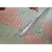 Buy cheap Expanded Galvanized Metal Drywall Plaster Angle Bead  70mm Wing from wholesalers