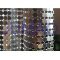 Buy cheap Antique Coated Metal Sequin Fabric Easy Installation Architectural Drapery product