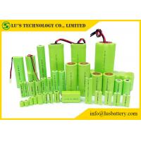 Buy cheap Rechargeable Nickel Metal Hydride Battery Cylindrical Single Cell Type 1.2V product