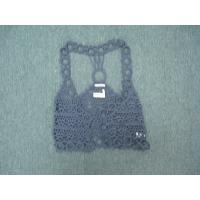 Buy cheap Gray Crochet Vest For Women for Spring / Autumn By Man-made from wholesalers