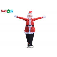 Buy cheap Bauble Advertising 10m Inflatable Christmas Air Dancer from wholesalers