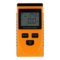 China GM630 Digital LCD Display Induction Wood Moisture Meter Wood Moisture Content Meter Wood Moisture Tester 0~50% on sale