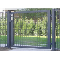 Buy cheap Decorative Wire Mesh Pvc Coated 1.5x1m Fence Double Gate from wholesalers