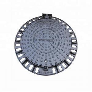 China EN124 cast iron rain manhole cover weight, communication manhole cover on sale