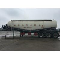 Buy cheap Particle Material Transport Semi Trailer Truck / Bulk Cement Tank Semi Trailer from wholesalers
