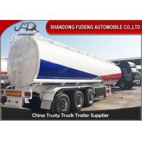 Buy cheap 45000L Fuel tanker semi trailer with BPW axle , used fuel tanker truck trailer from wholesalers