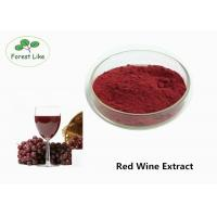 China Natural Antioxidant Red Wine Anthocyanin Extract Powder 30% Polyphenols Health care Use on sale