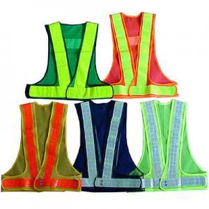 Buy cheap Durable Reflective Safety Coat / Sanitation Traffic Safety Warning Clothing Vest product