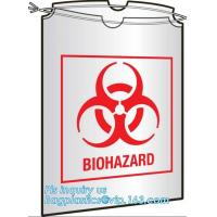 Buy cheap Large Drawstring Biohazardous Waste Bags, Nice printing red incinerate waste bag, Biohazard Bags Medical Waste Bags with from wholesalers