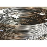Buy cheap Round Welded Stainless Steel Coil Tubing , ASTM A249 Small Diameter SS Pipe from wholesalers