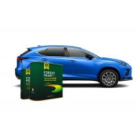 Buy cheap Forest Bright Blue 1K Basecoat Pearlescent Car Paint from wholesalers