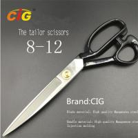 Buy cheap 8 - 12 Stainless Steel Tailor Scissors For Cutting Fabric , Leather from wholesalers