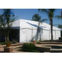White Color Heavy Duty Party Tent , Wind Resistant Easy Assembled Marquee Tent Wedding