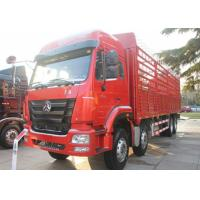 Buy cheap 40 Ton Heavy Livestock Trucks , Four Axles Cattle Transport Trucks 11.00R20 Tire from wholesalers