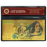 Buy cheap Plastic Italy 500000 Lira Gold Paper Money Collecting Album For Souvenir Gift from wholesalers