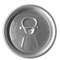 Buy cheap Aluminium EOE / Tinplate Easy Open Lid International Standard SGS from wholesalers