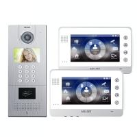Buy cheap MS301+MS715C TCP/IP Based Punch Card+Keypad Outdoor Video Door Phone Chinese Supplier from wholesalers