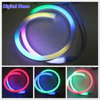 Buy cheap 14*26mm clear lights festival led lighting digital neon light with low volt from wholesalers
