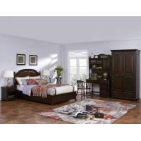 Buy cheap American Leisure Antique Design Single bedroom furniture Small bed with writing Desk and Bookcase and 2 door wardrobe from wholesalers